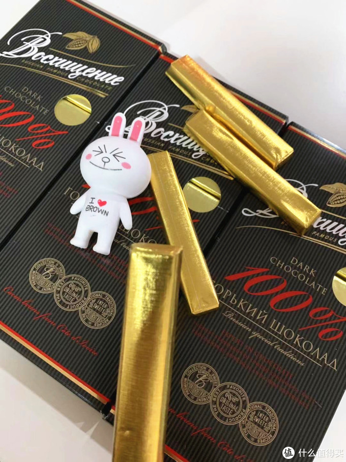 俄罗斯100%黑纯巧克力