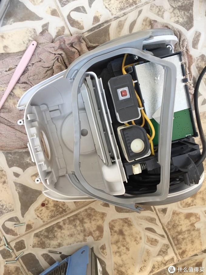 [拆机+清洁]松下吸尘器MC-CL443