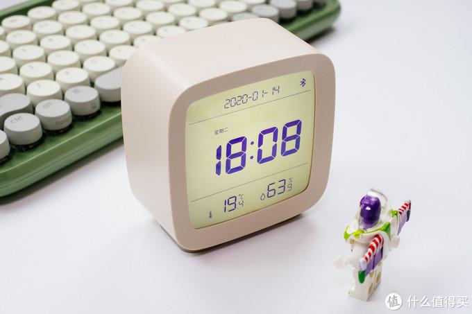 """打破传统闹钟的""""滴滴""""声,让它成为一个懂你的闹钟:青萍蓝牙闹钟"""