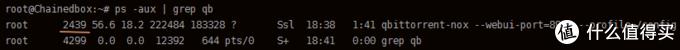 得到两个结果,分别是qbittorrent和当前grep查找进程