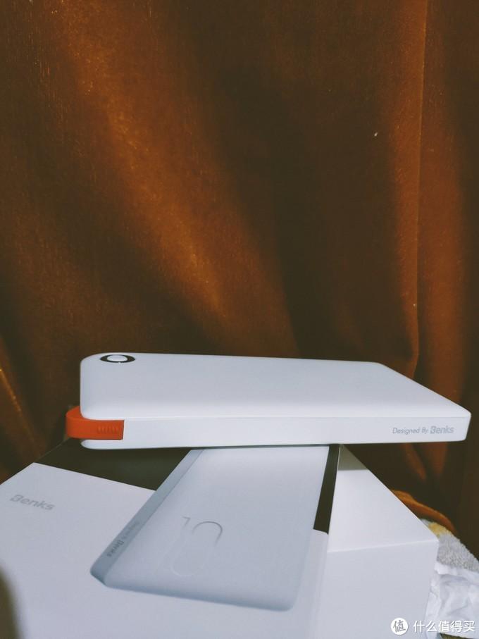高颜值,自带线——邦克仕移动电源18W双向快充