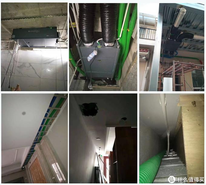 东莞已装修房子加装氧风新风除湿机