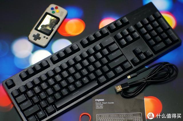 机械键盘咔哒咔哒响 感觉自己变成了老打字员雷柏V808体验