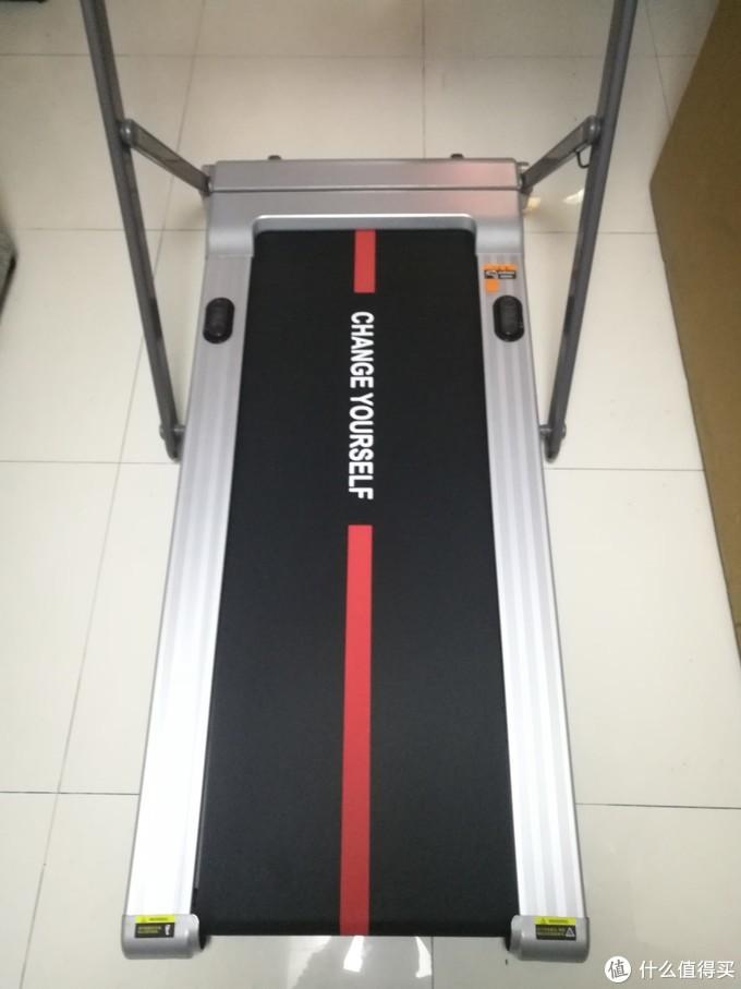过节增肥不用愁华为运动健康生态链来帮忙易跑 MINI-C 折叠跑步机一机两用走跑双模式