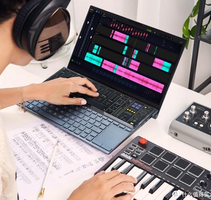 出色的双屏交互性:ASUS华硕 灵耀X2 Duo 双屏设计笔记本电脑 上架开售