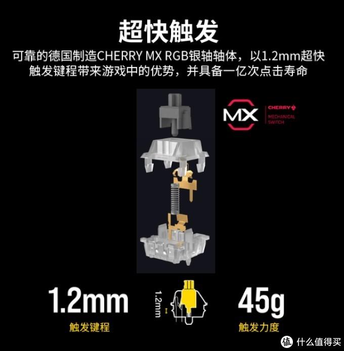 皮革掌托、1亿次寿命、PBT注塑键帽:美商海盗船 K95 RGB PLATINUM XT 机械键盘上架开售