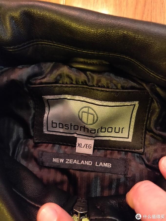 从海外代购者手中购入的羊皮夹克