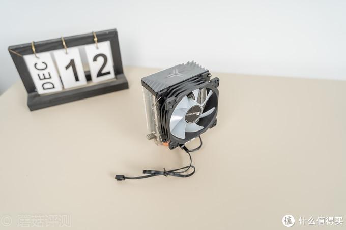 体积小巧,外观酷炫、乔思伯CR-1200塔式散热器 评测