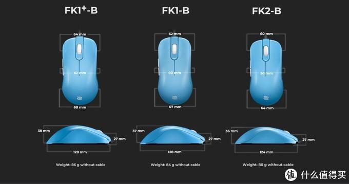 硬核鼠标之王卓威fk2-b体验