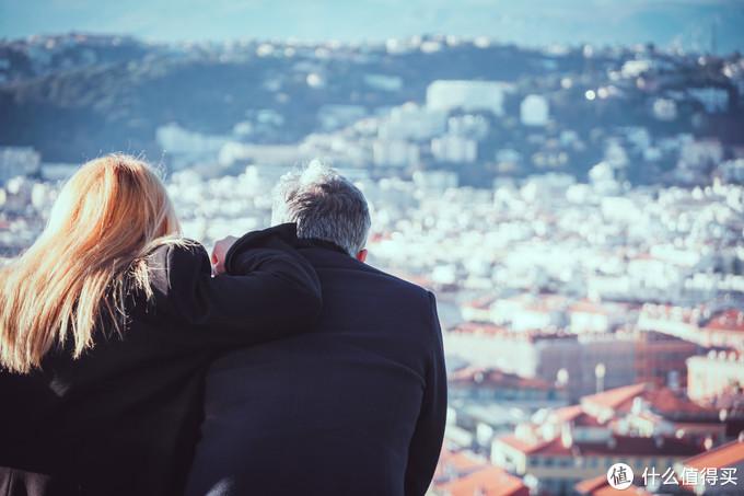 城堡山上俯瞰尼斯