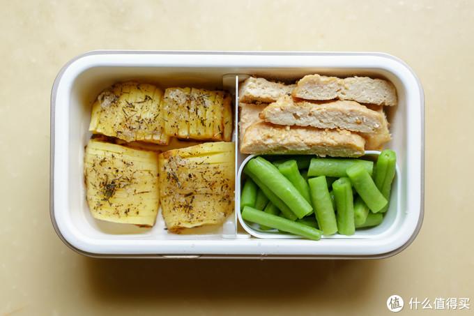 改变一下布局和食材的占比,主:肉:蔬=2:1:1