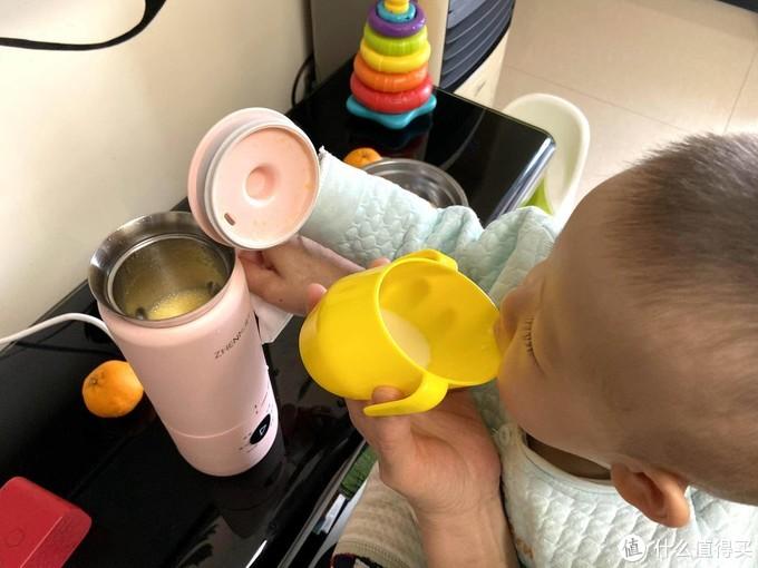便携的热水壶,移动的豆浆站-为了我儿入了个能烧水的mini破壁机。
