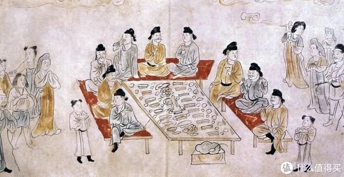 古代年会鄙视链:男人抹胭脂,贵族啃葱蒜