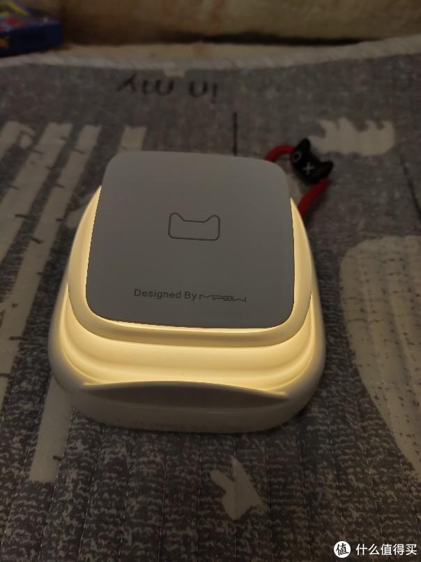 充电全能型选手  Mipow天猫定制款小夜灯无线移动电源评测
