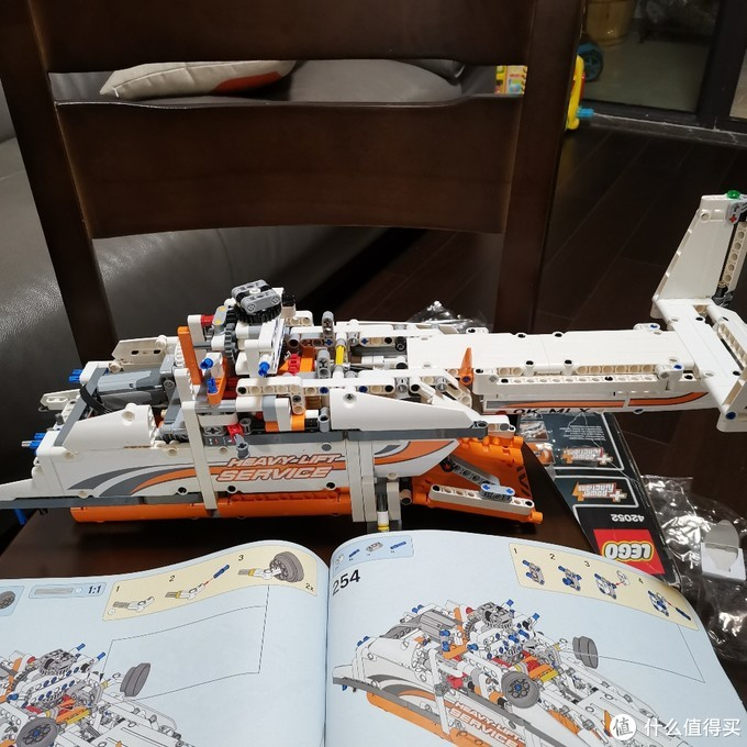 乐高机械组 42052 双旋翼运输直升机