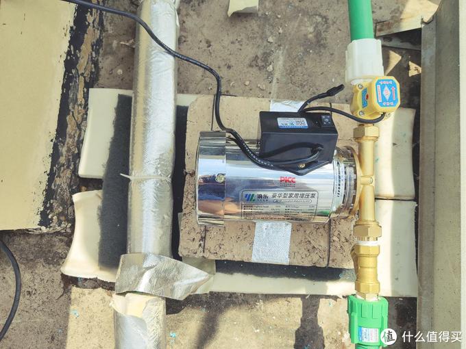 旧宅改造篇1-太阳能管道更新、加装沐浴恒温阀、增压泵