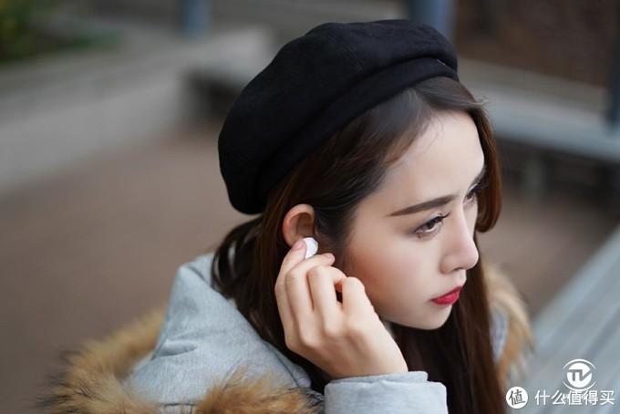 AI降噪专 手机绝配 时尚小仙女体验OPPO Enco Free真无线耳机