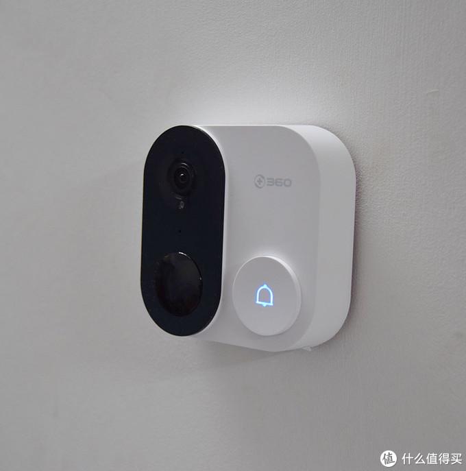 360可视门铃1C上手评测:凭什么能成为居家防盗好物?