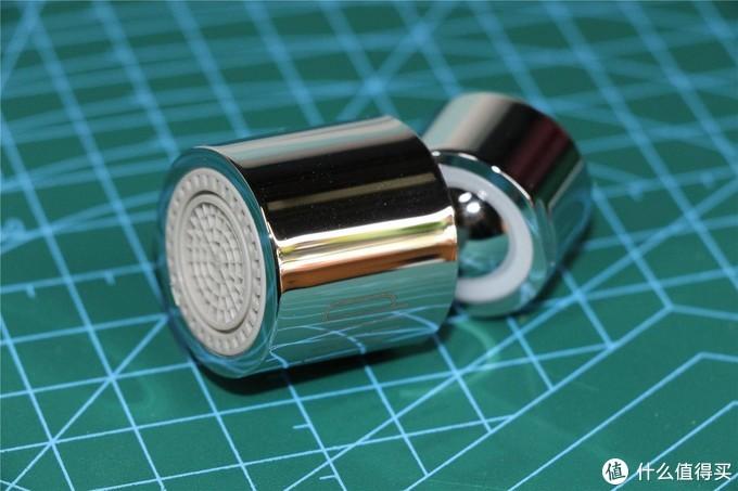 精致好物,节水利器--大白双功能起泡器