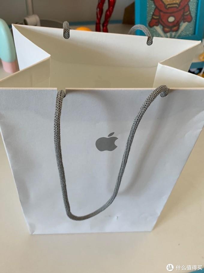 实体店购买附送的手提袋