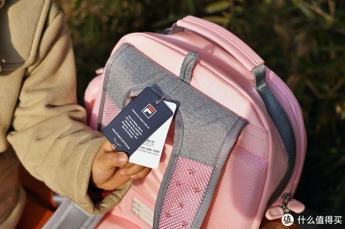 春节送孩子的最好礼物:FILA KIDS 双肩儿童书包评测