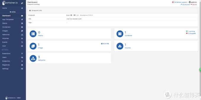 进入设置页面以后,找到左边的images进入到容器镜像的搜索下载页面。