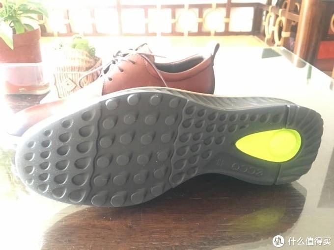 还是ECCO 香-男士 St1 Hybrid 平头牛津鞋