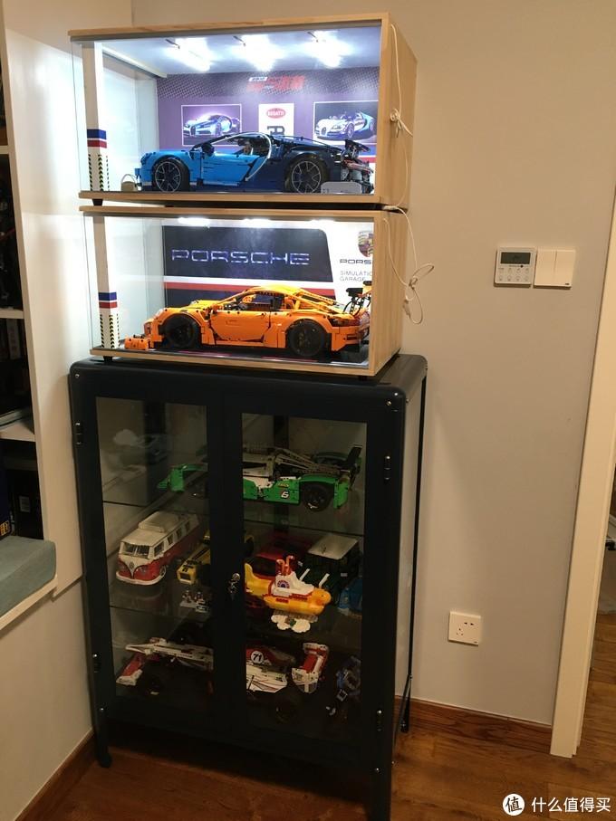 LEGO的完美收纳——IKEA 宜家 法布利克 玻璃柜 展示柜