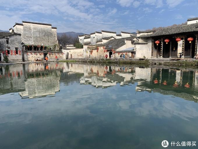 古代徽式建筑的代表——宏村