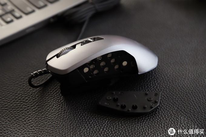 侧裙可拆按键随心装,黑爵GTi模块化游戏鼠标评测