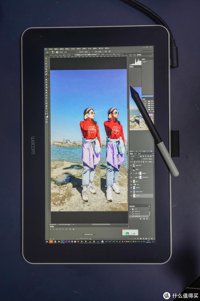 摄影、设计、绘画爱好者的第一块数位屏----Wacom One万与创意数位屏