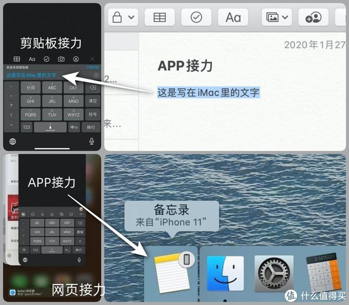 """苹果设备之间的""""接力""""很好用"""