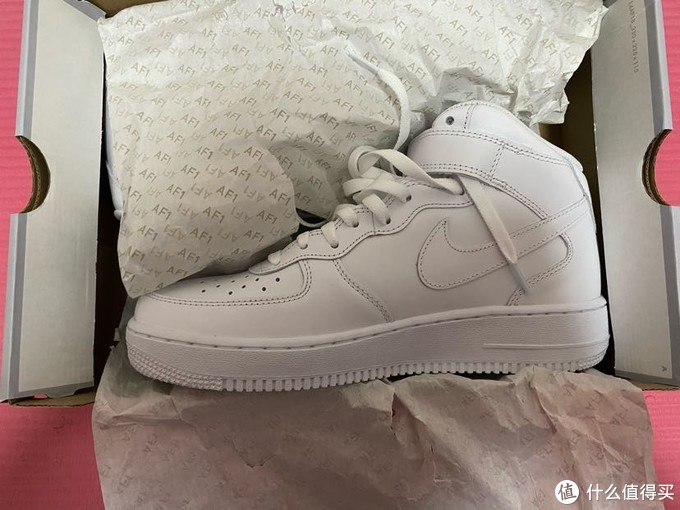 与鞋分享(二):Nike Air Force Mid'07