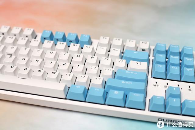 三模无线键盘杜伽K320 W让你的桌面摆脱线材束缚