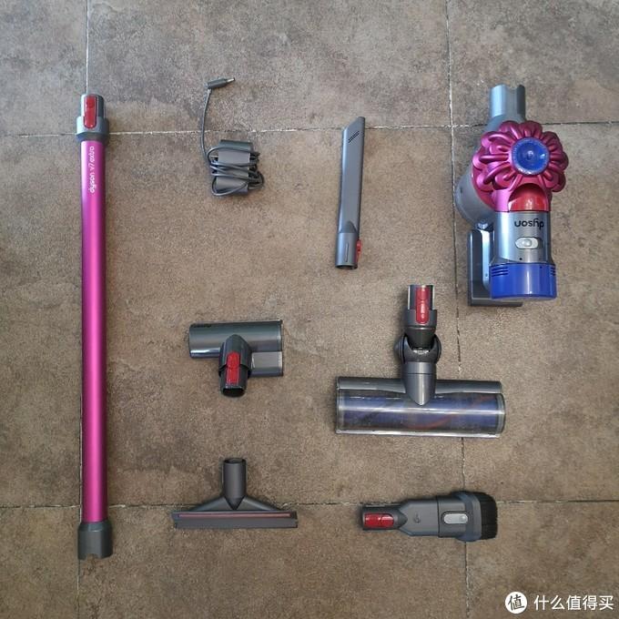 """春节家中""""深度""""清洁大作战 戴森V7 Extra使用体验"""