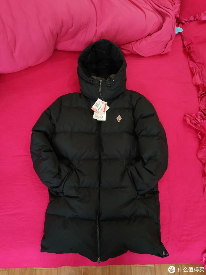 我的冬日保暖装备之黑冰F8516长款羽绒服体验