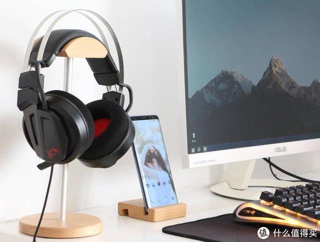 国际板卡大厂出的游戏耳机是什么体验!微星GH60电竞耳机评测
