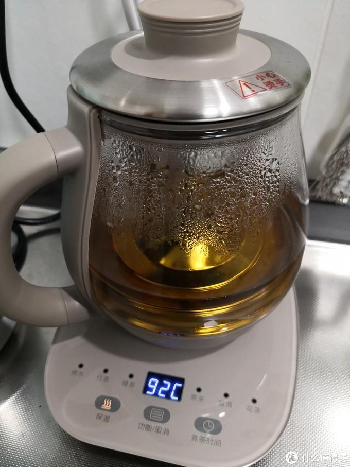 红茶默认煮2分钟,要浓点的话,可以自定义多煮一会儿。