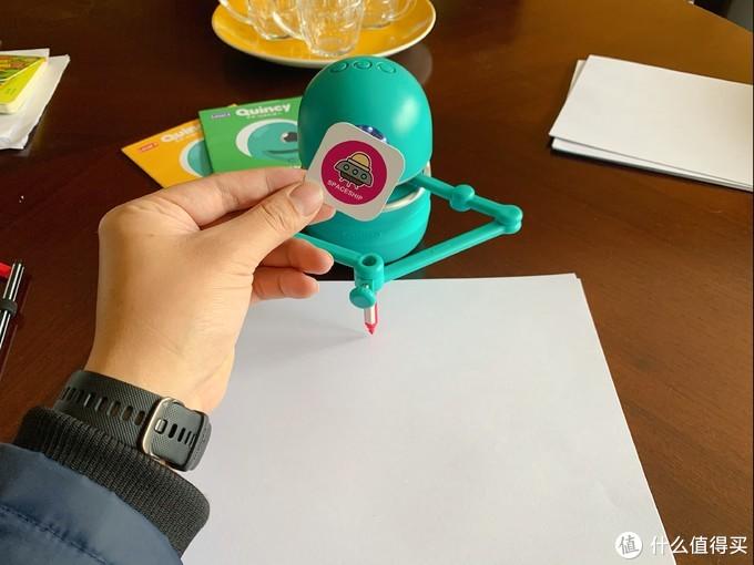 培养孩子认知动手能力——蓝宙科技 昆希·绘画机器人