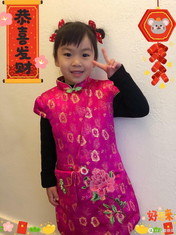 新年喜庆中国娃娃