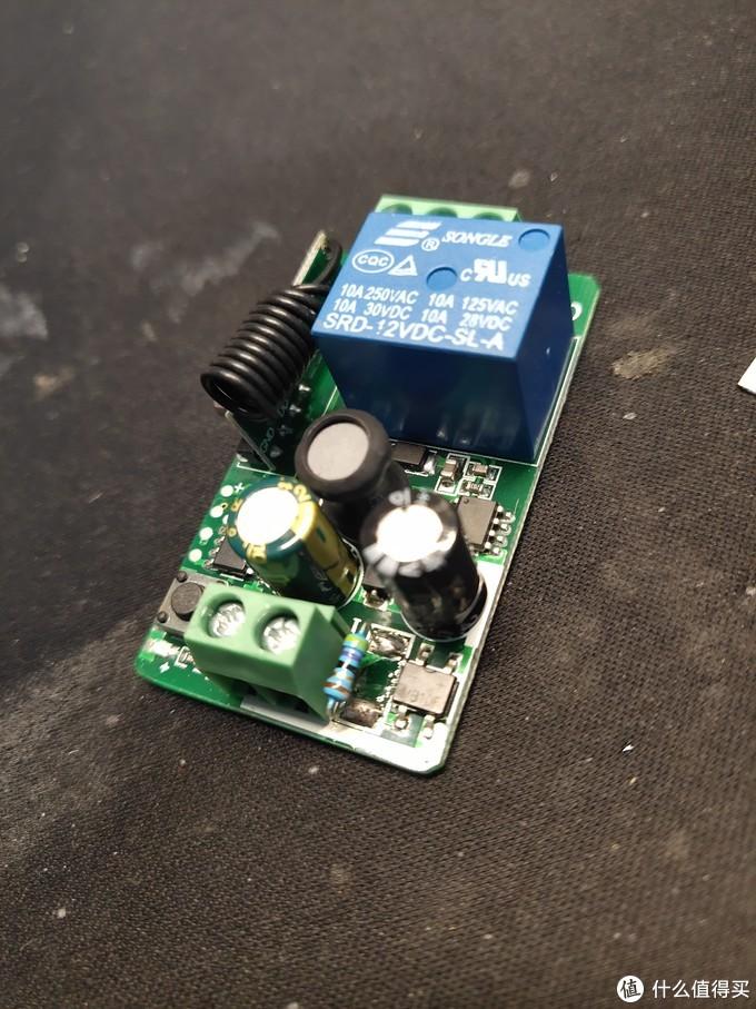 一般我们可以使用这种射频继电器模块做改装