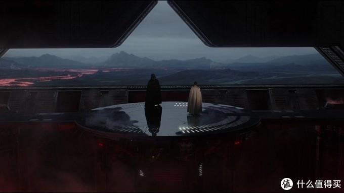 从贴纸表现的灯光来看,此处还原的是《侠盗一号》中维达会见科伦尼克的所在