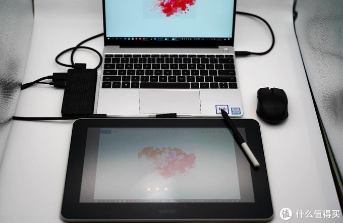 素练风霜起,苍鹰画作殊!Wacom One万与创意数位屏使用体验