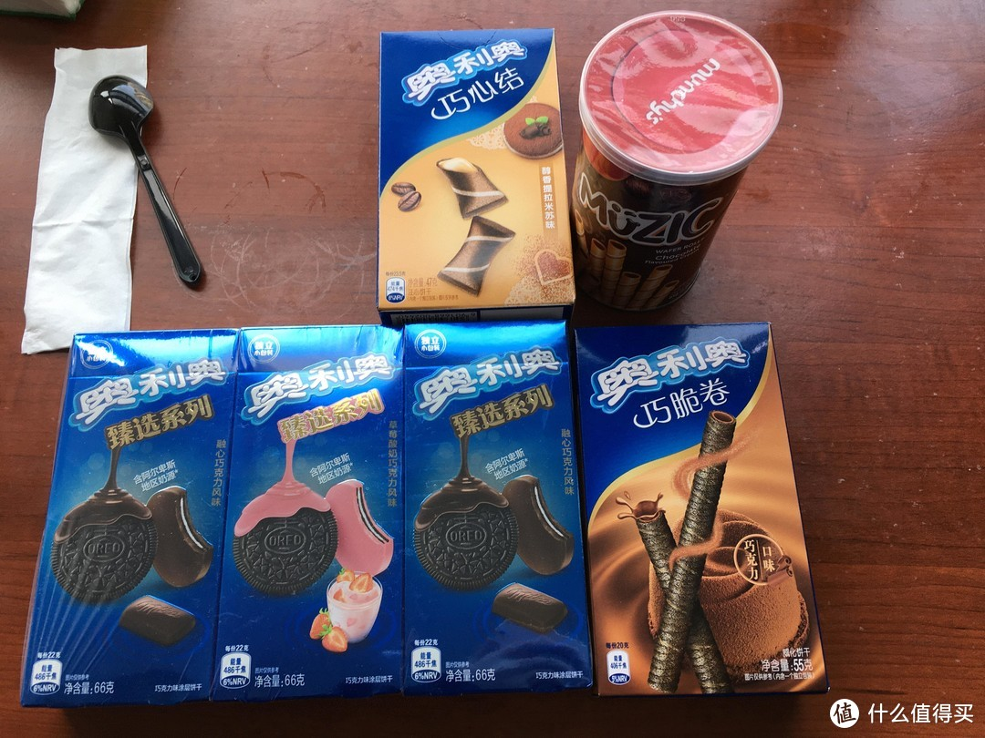 亿滋饼干奥利奥系列5款横评 另附2款进口零食
