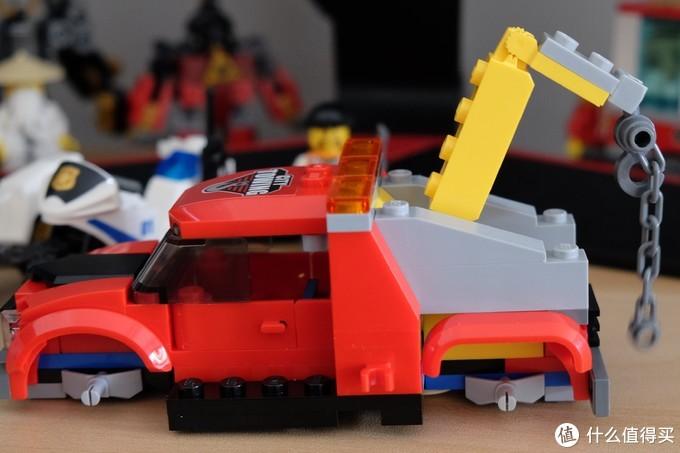 宅在家中无从乐,不如拆盒乐高做——LEGO 乐高60137 拖车追逐
