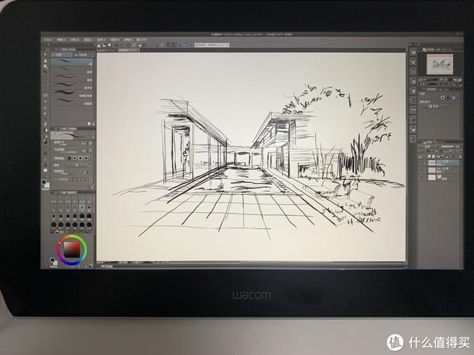今天起, 我用小万创作了, Wacom one 数位屏, 手绘使用体验
