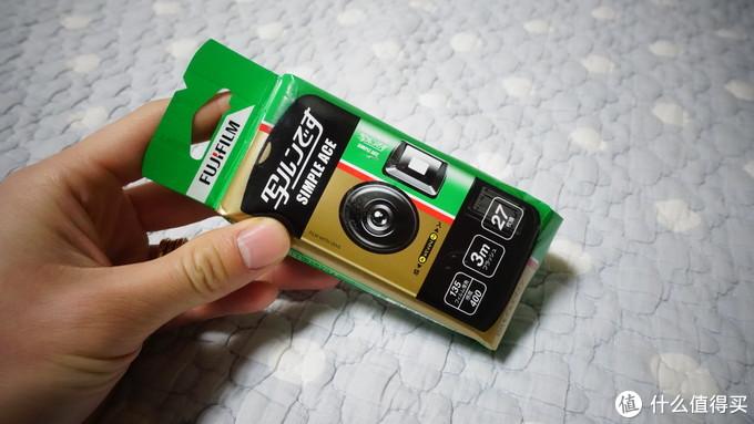 还原记忆该有的样子:富士一次性胶片相机开箱体验