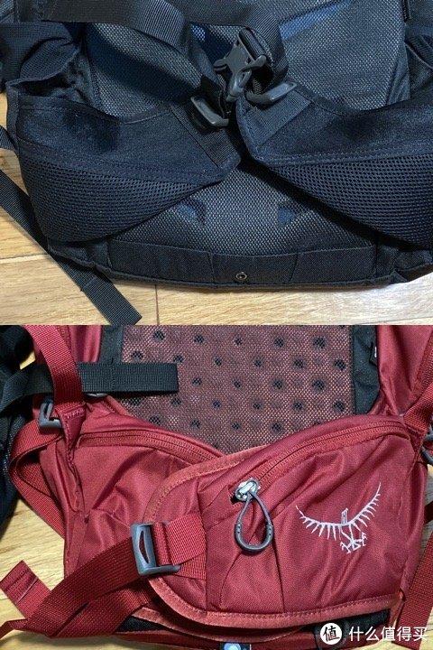 19款的腰带升级了腰包,但仅限skarab30L和女款skimmer 28L