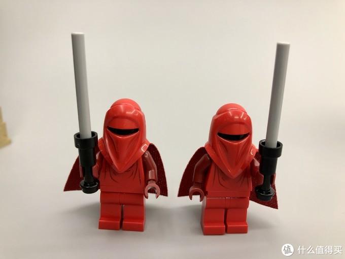 俗称龙虾兵的帝国皇家侍卫两名