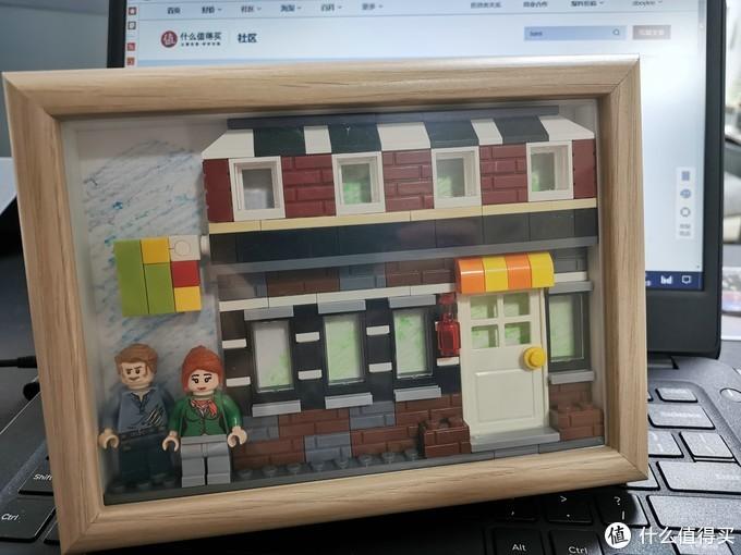 又把积木塞进了IKEA相框——LEGO 乐高 CITY 城市组